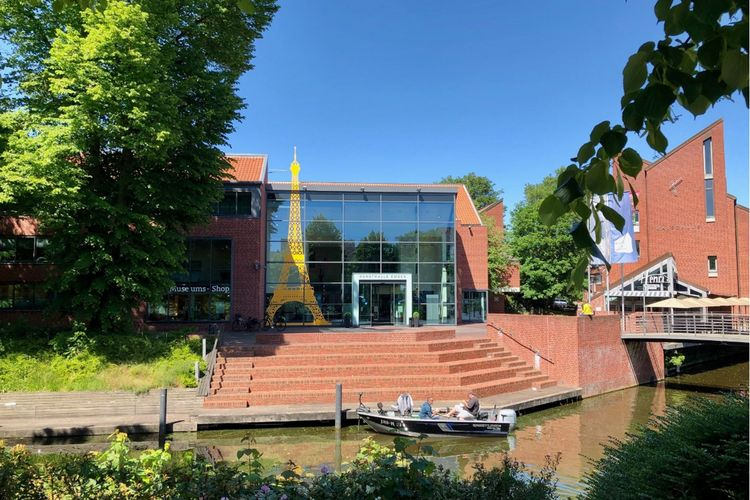 Außenansicht der Kunsthalle Emden
