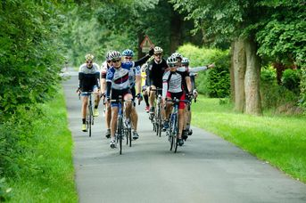 Sportive Rhodoroute für das Rennrad